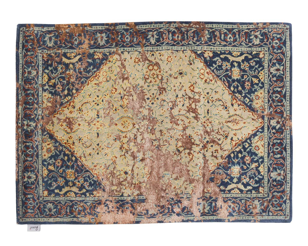 tapis de lancer oriental brun rectangle frais