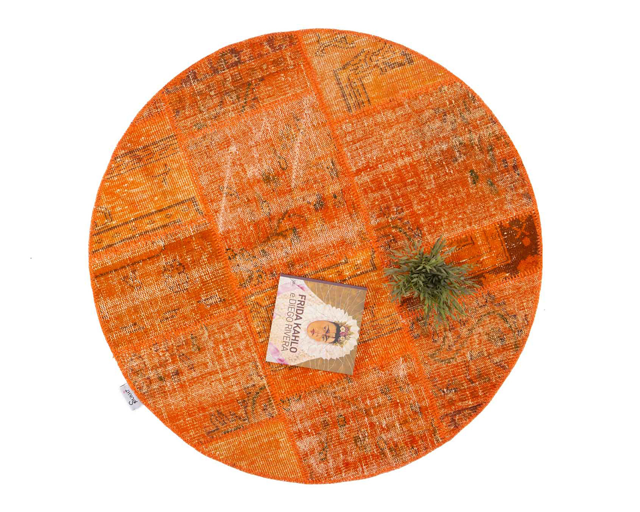 maison decor modeliste la zun tapis orange