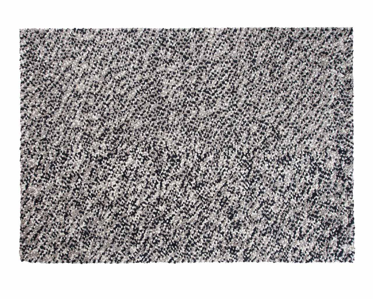 felted yarn rugs india mix of greys sukhi
