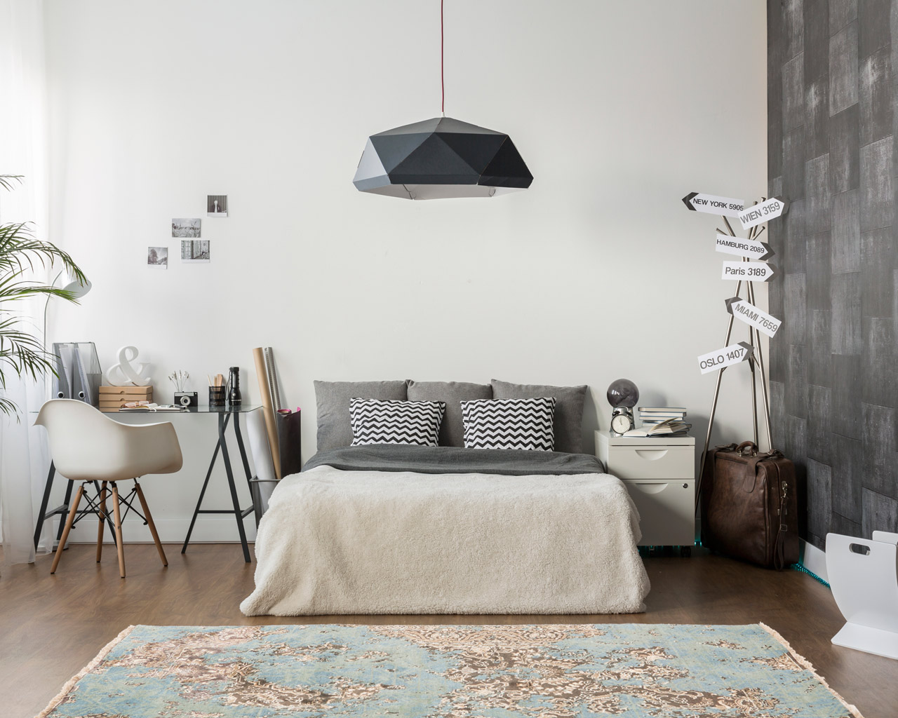 orientale tapis chambre abordable